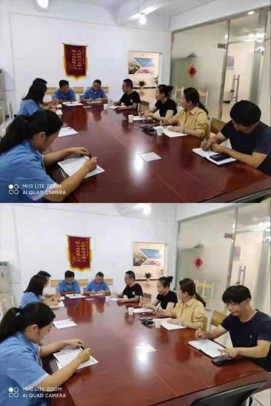 忻州热力经发部2021-2022年度报停暖工作开展如火如荼